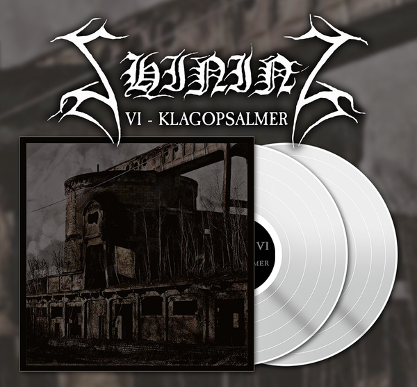 "Image of Shining ""VI - Klagopsalmer"" SIGNED white 2x12"" vinyl"