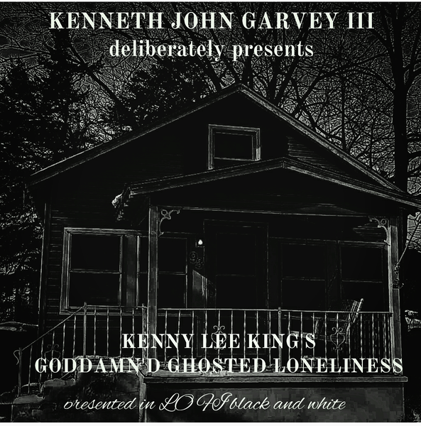 "Image of ""Kenny Lee King's Goddamn'd Ghosted Loneliness"" CD"