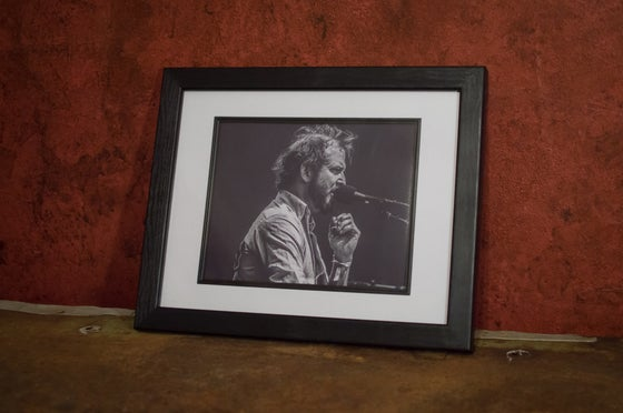 Image of Justin Vernon 8x10 framed print