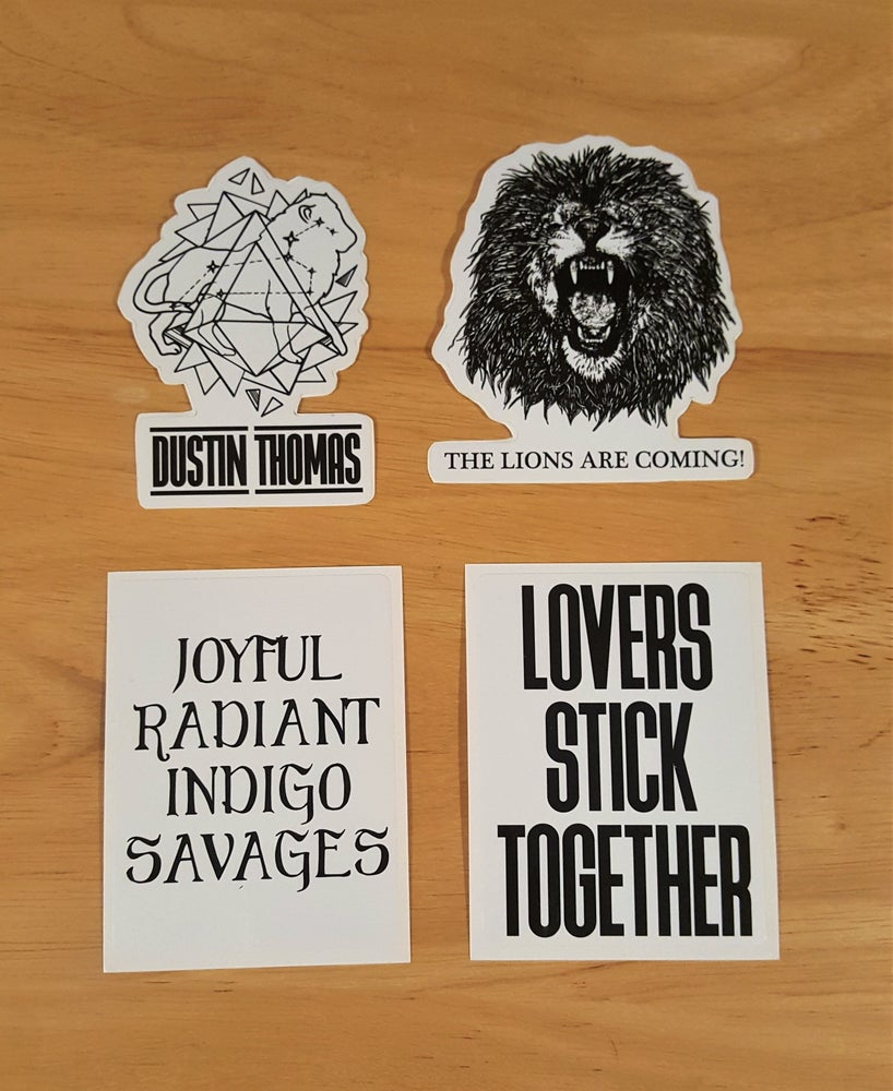 Image of Stickers - NEW