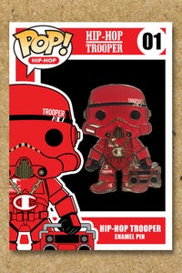 Image of Hip-Hop Trooper Enamel Pin
