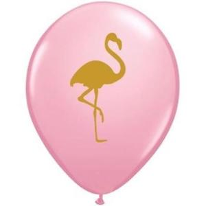 Image of Let's Flamingle Latex Balloon