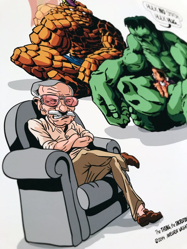 Image of When Sprout Met Jack Kirby and Stan Lee