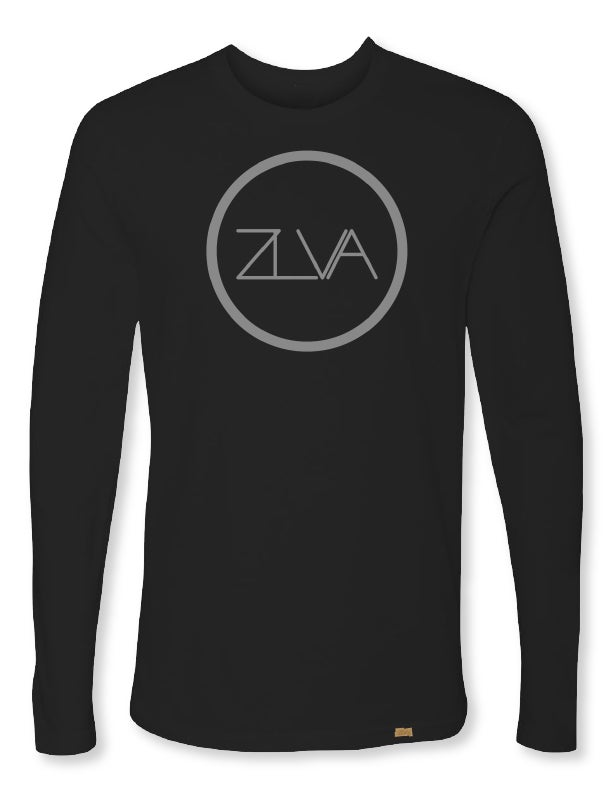 Image of ZLVA CIRCLE LOGO L/S - BLACK