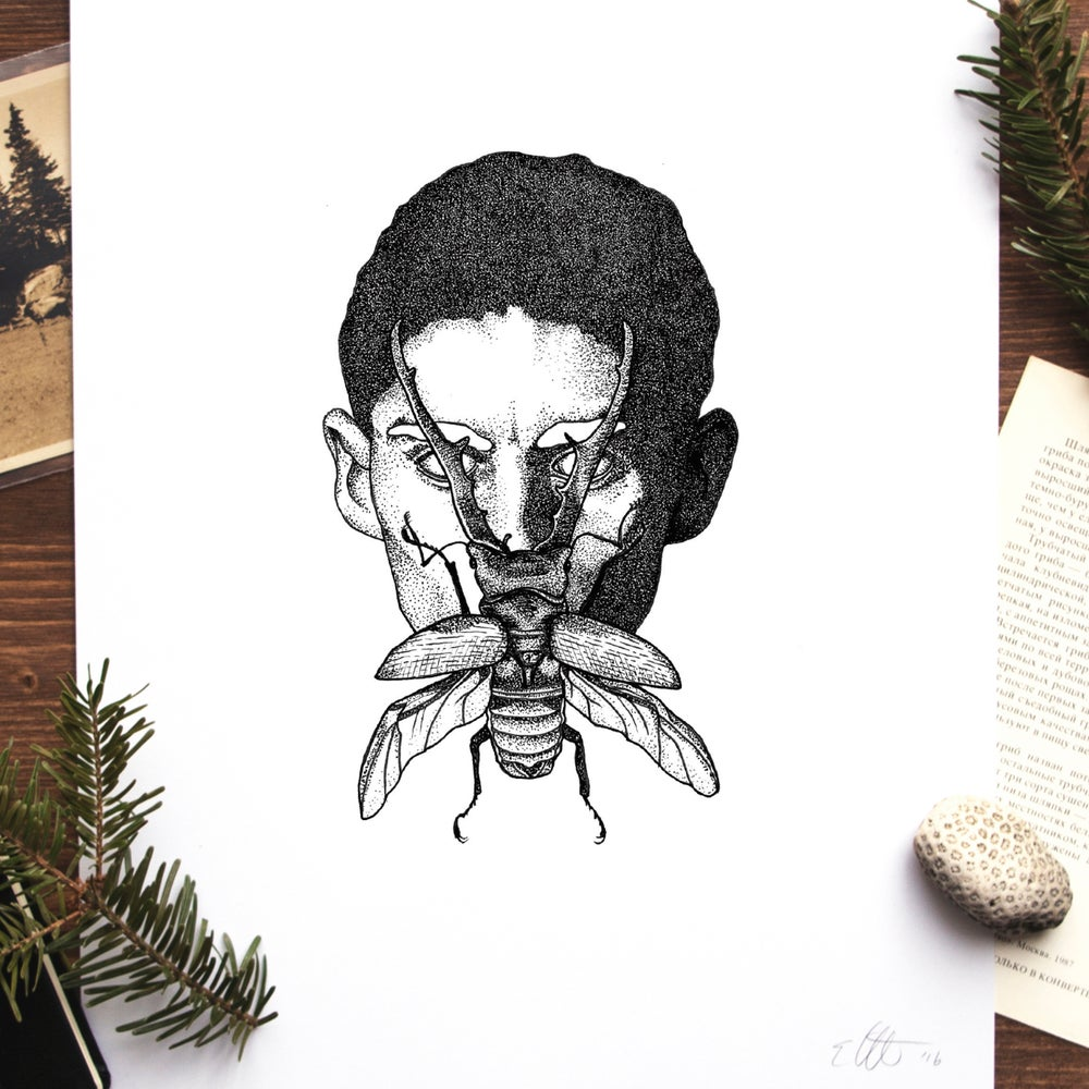 Image of Kafka (The Metamorphosis) Print