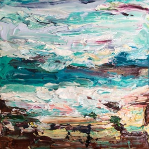 Image of Coastal no.28 - 30x30cm