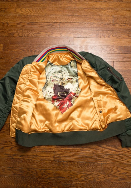Image of Wolf Season Flight Jacket