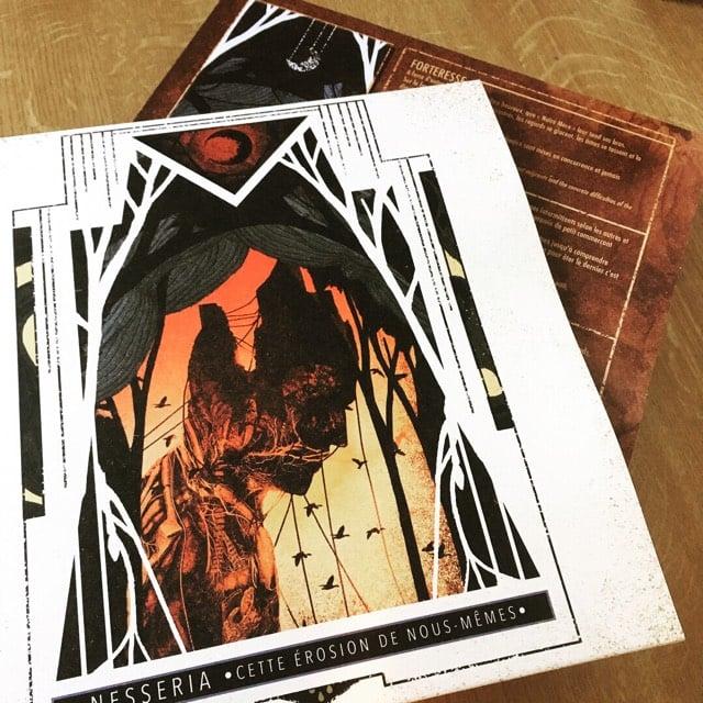 """Image of """"Cette érosion de nous-mêmes"""" vinyl lp black version"""