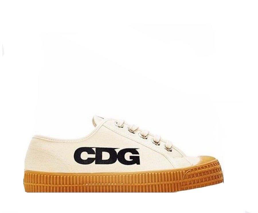 Image of COMME des GARÇONS X NOVESTA CANVAS GOOD DESIGN SHOE