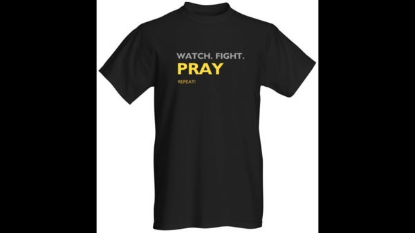 Image of Watch. Fight. Pray. Tee