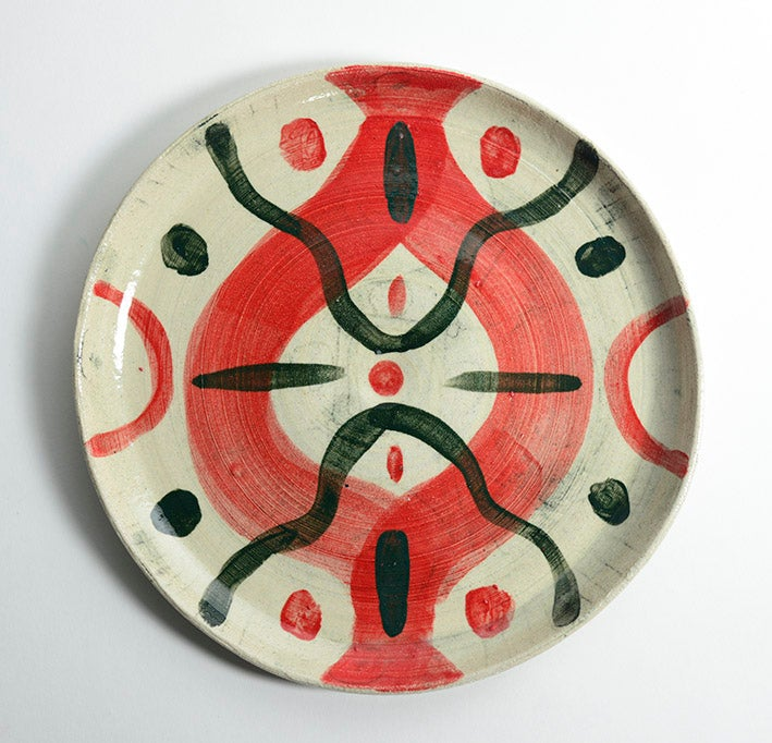 Image of Big Red Plate