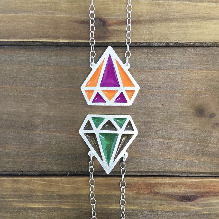 Image of Gemstone Color Necklace