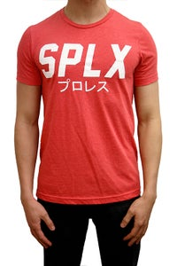Image of Heather Red SPLX Logo Shirt