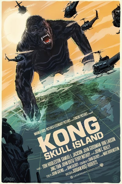 Image of Kong Skull Island Mondo Screen Print Artist Proof