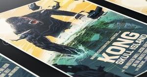 Image of Kong Skull Island Mondo Screen Print Artist Proof