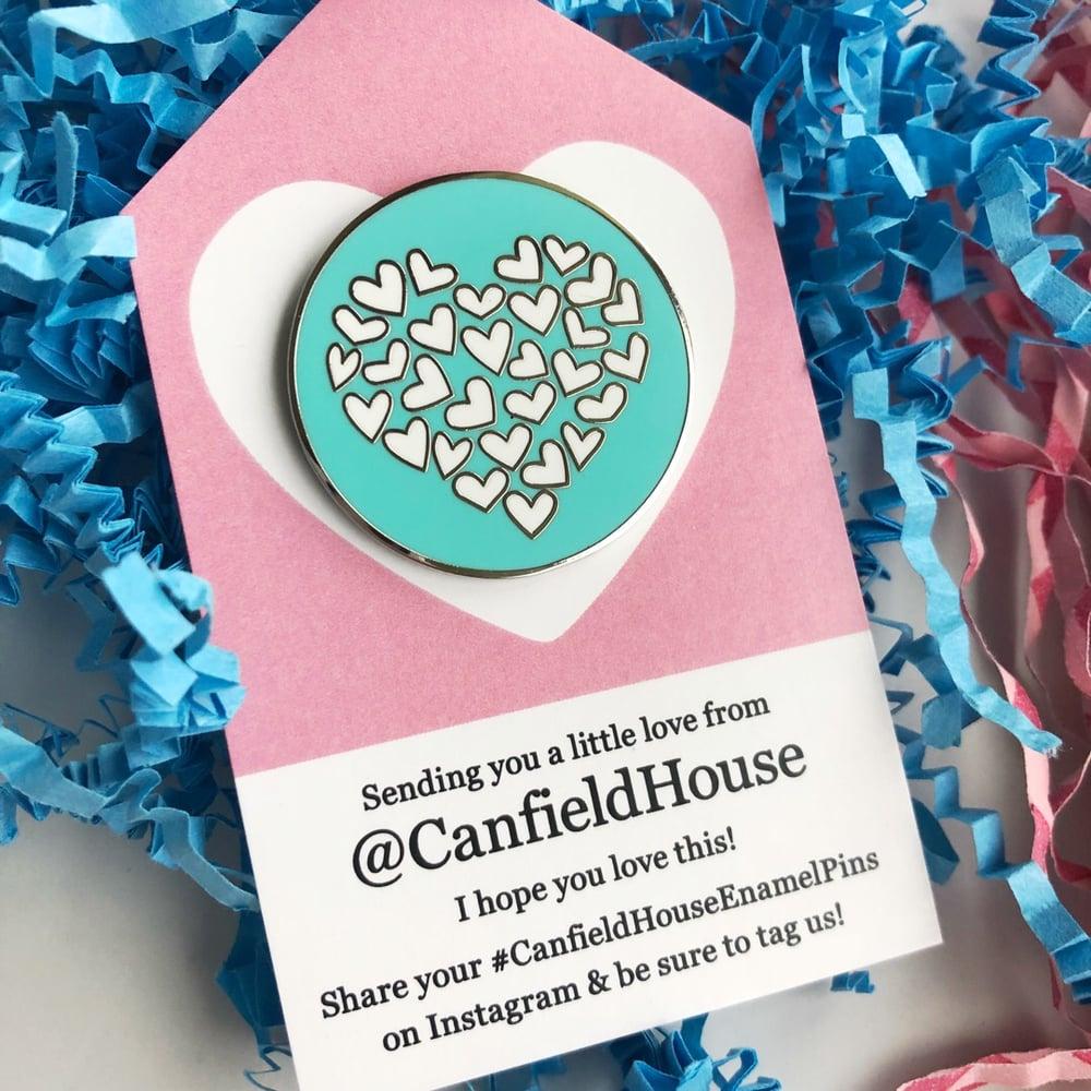 Image of Heart of Heart Enamel Pins