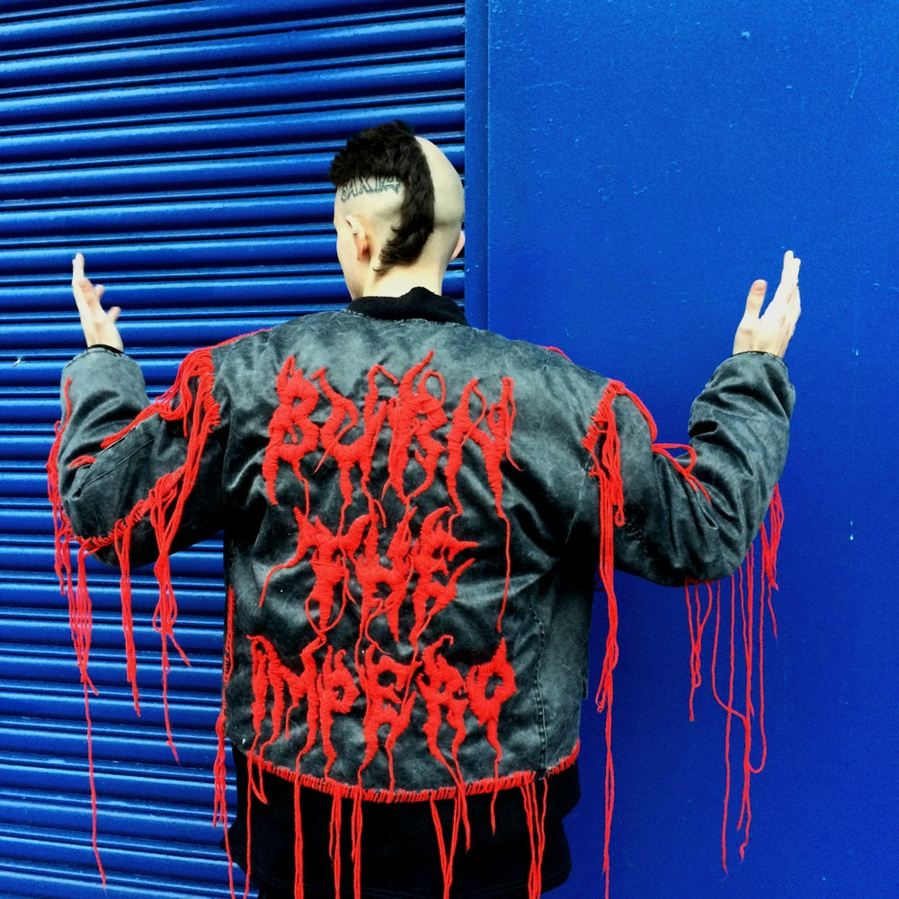 Image of BURN THE IMPERO BOMBER JACKET