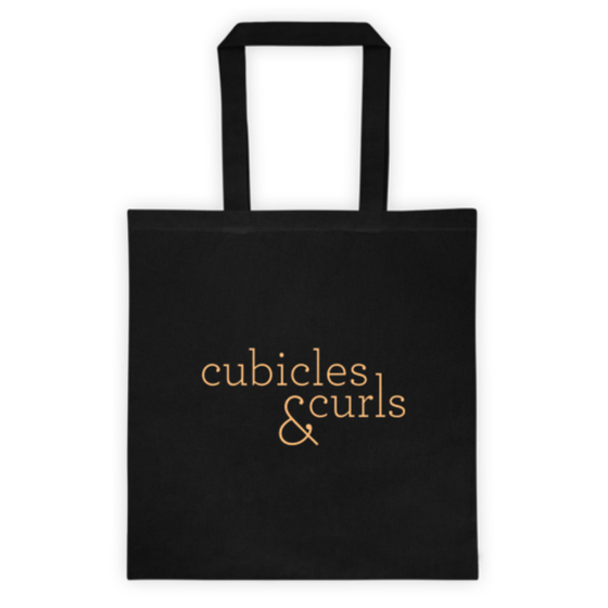 Image of Cubicles & Curls Tote