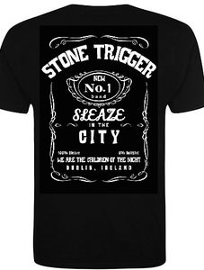 Image of **SALE** Stone Trigger Sleaze In The City T Shirt** SALE**