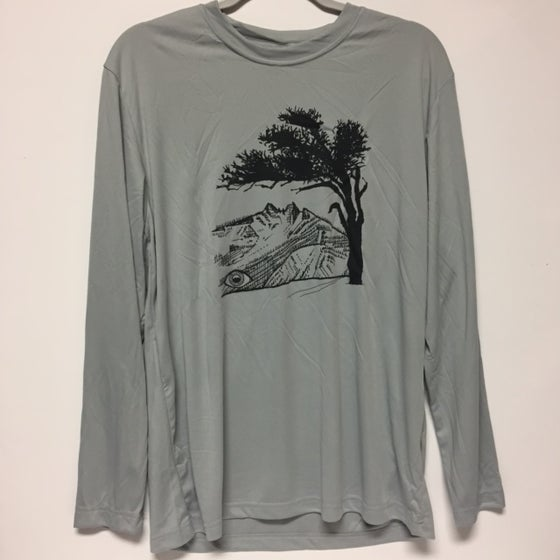 Image of F Tree - Mens Long Sleeve Tech Tee