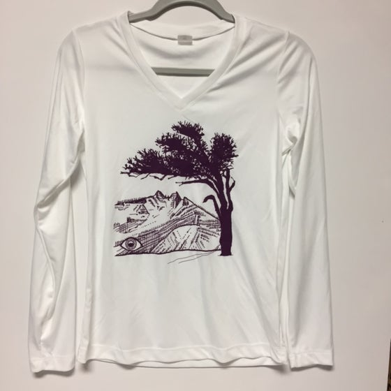 Image of F Tree - Womens Long Sleeve Tech Tee