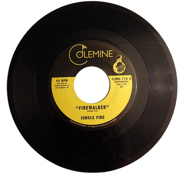 "Jungle Fire - Firewalker b/w Chalupa (7"")"