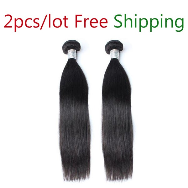 Image of 10A Mixed length 2pcs/lot different types and textures hair avaliable free shipping