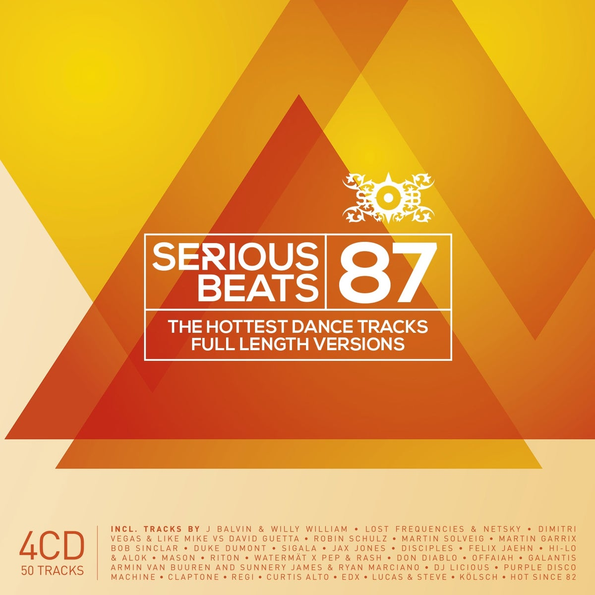 Image of VARIOUS ARTISTS -  SERIOUS BEATS 87 (4CD)