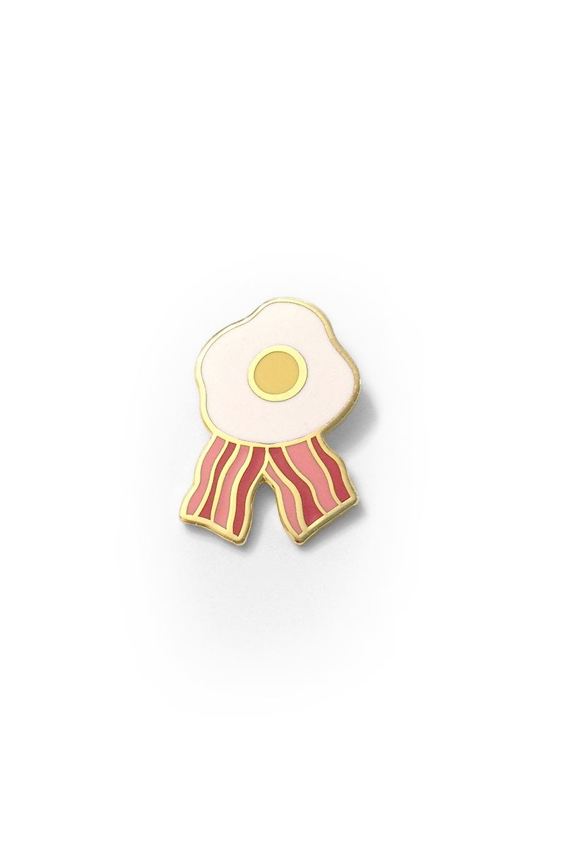 Image of CHAMPION OF BREAKFAST PIN 🍳🥓