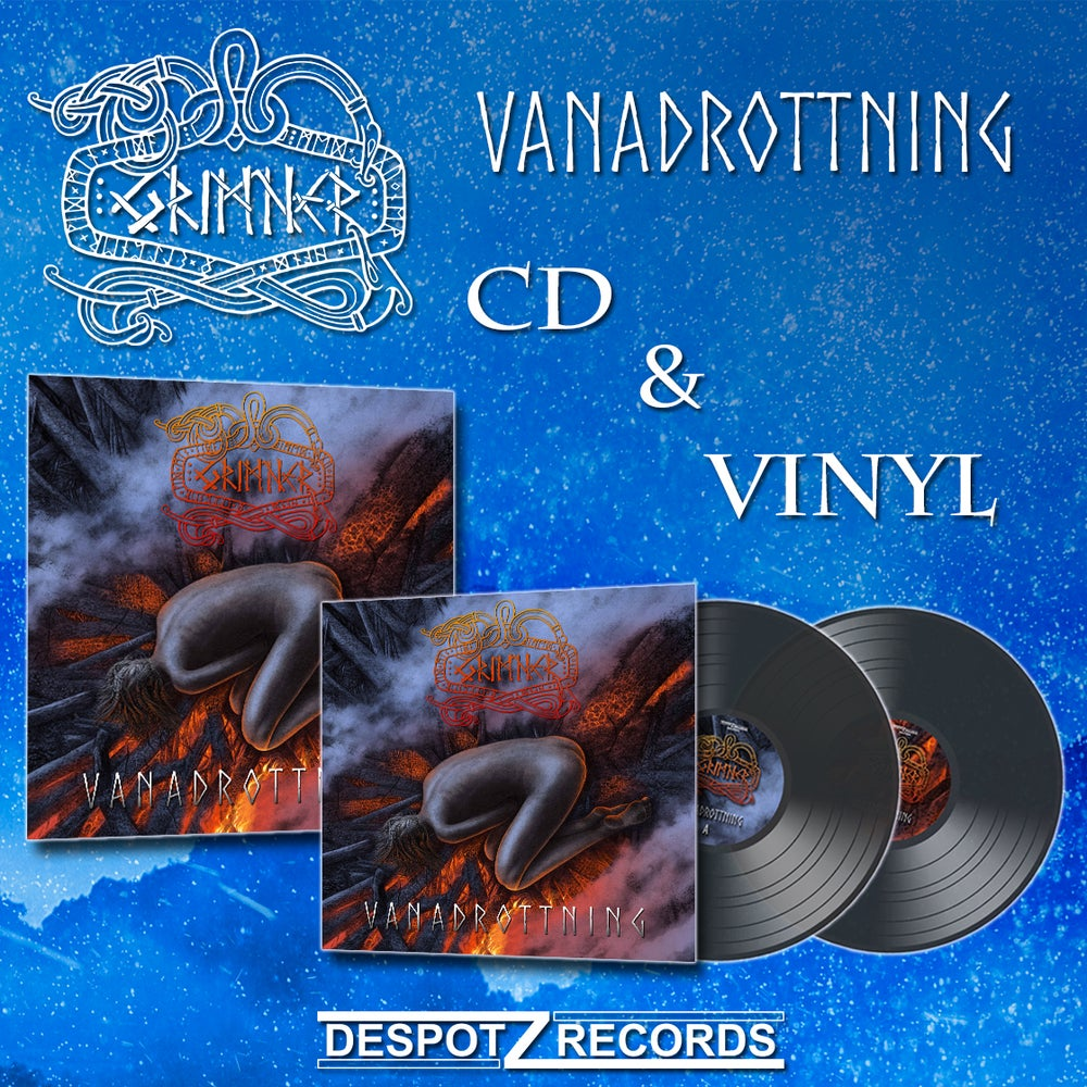 Image of Grimner - Vanadrottning Pack (CD/2xLP)