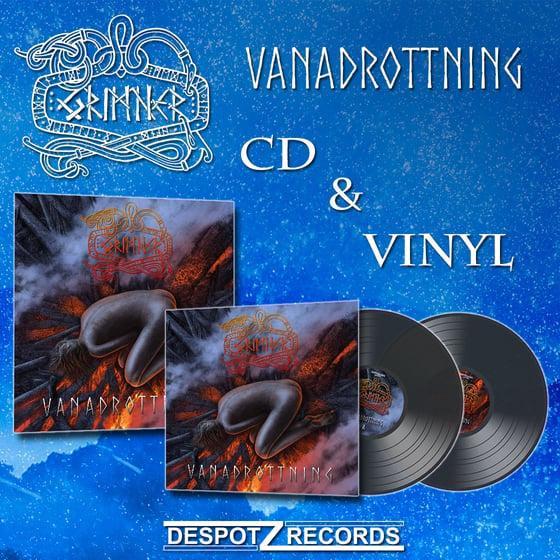 Image of Grimner - Vanadrottning Pack (CD/2xLP)