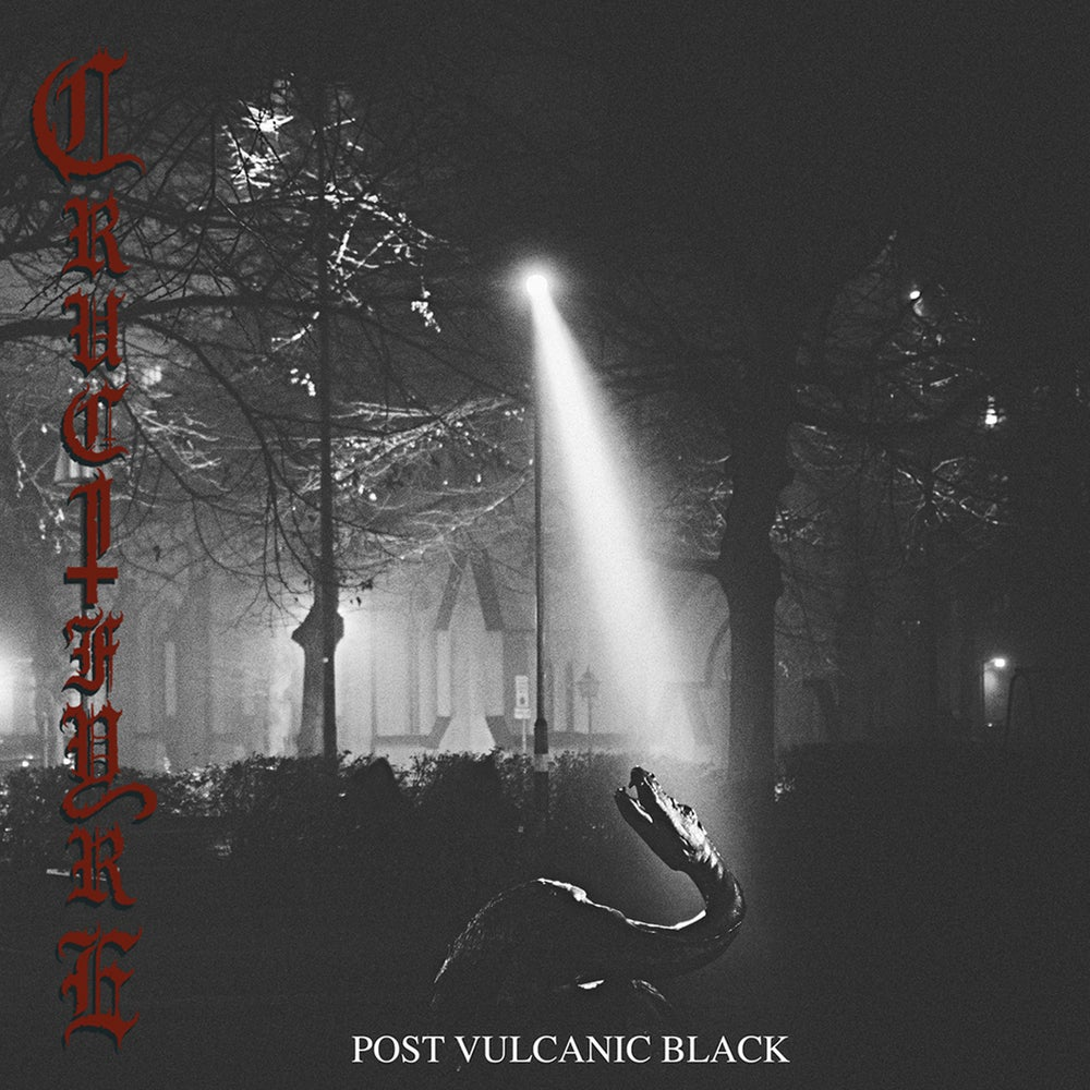 "CRUCIFYRE ""Post Vulcanic Black"" Gatefold Double LP"
