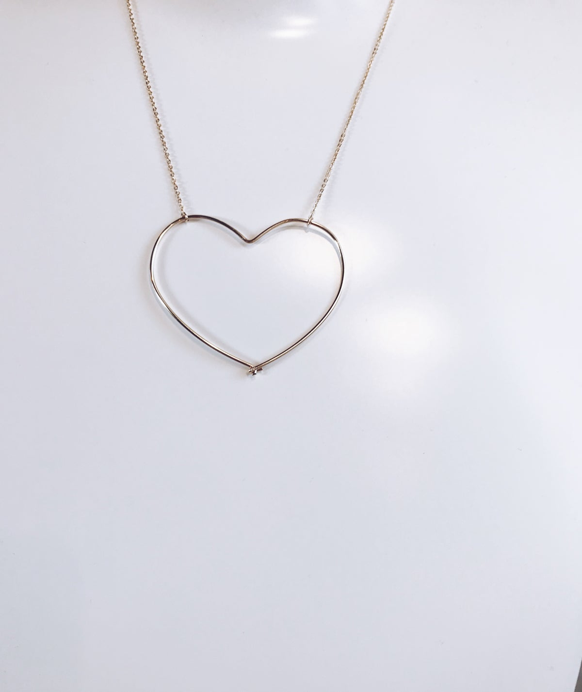 Image of Le collier big Love sur mesure
