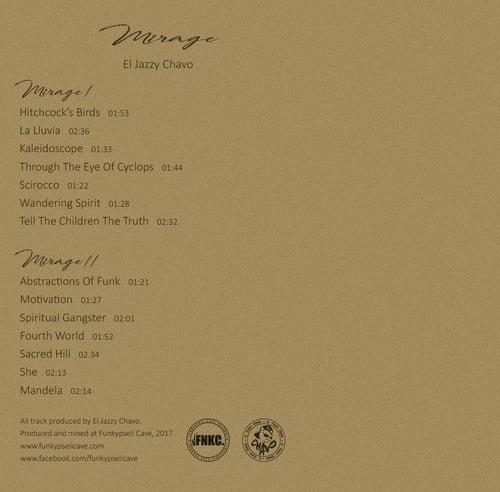 Image of El Jazzy Chavo - Mirage (Cassette)