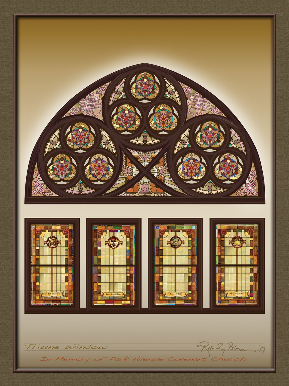Image of Triune Window (Park Avenue Edition)
