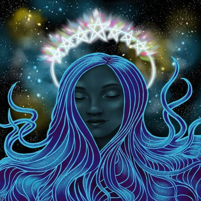 Image of Goddess Cassiopeia Fairy Aura Quartz