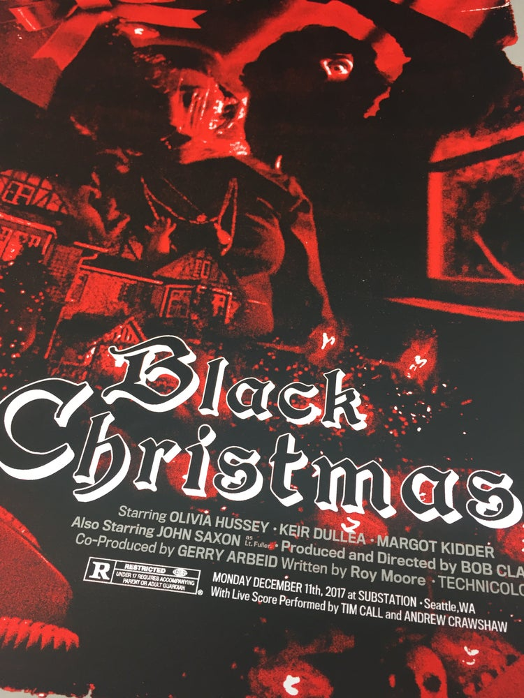 Image of Black Christmas Poster :|DEPTHS|: December Screening