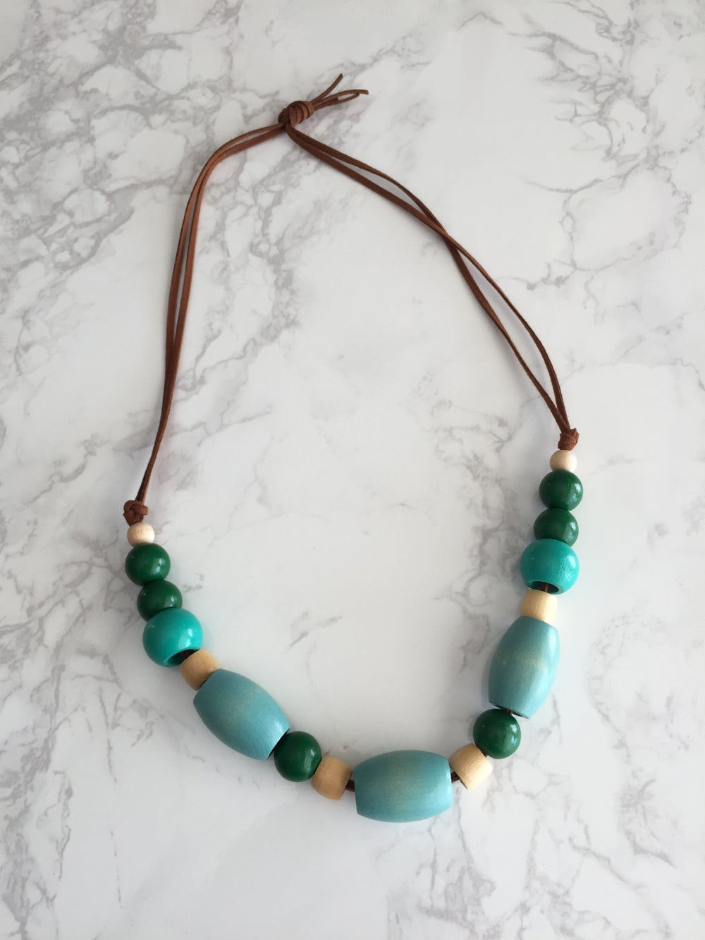 Image of Beaded Necklace No. 16