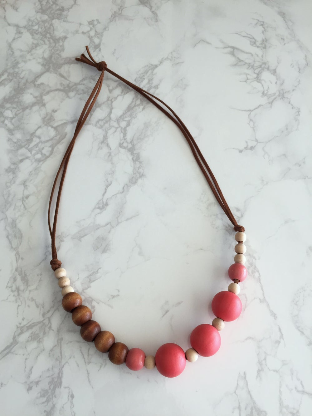Image of Beaded Necklace No. 24