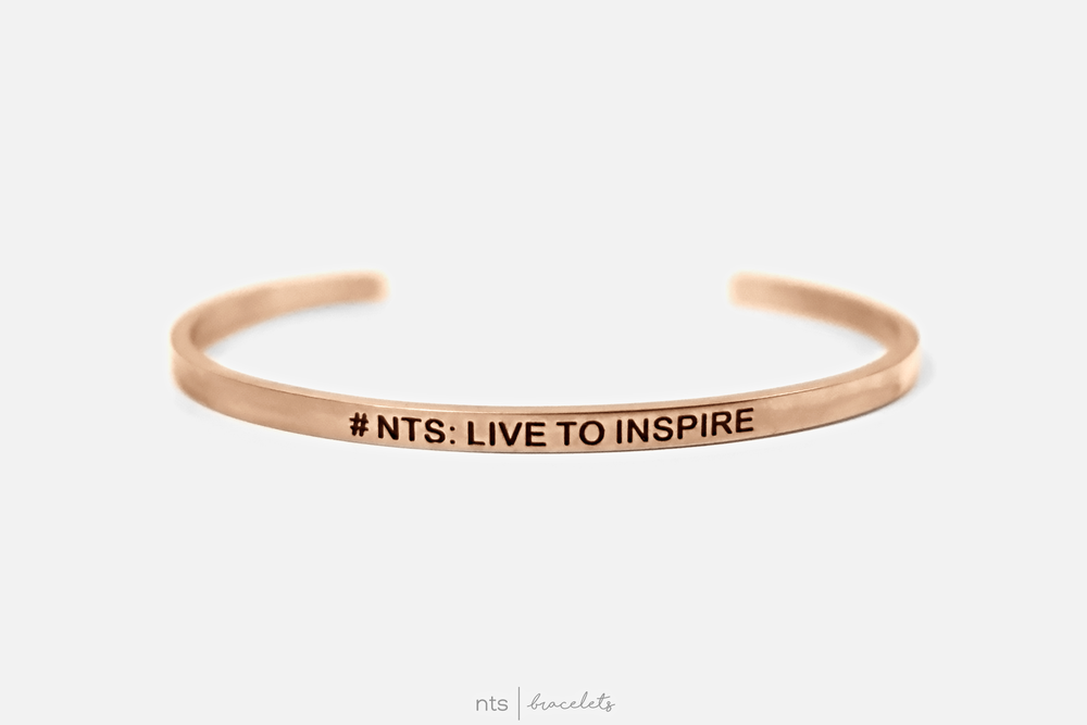 Image of #NTS: LIVE TO INSPIRE (Rose Gold)