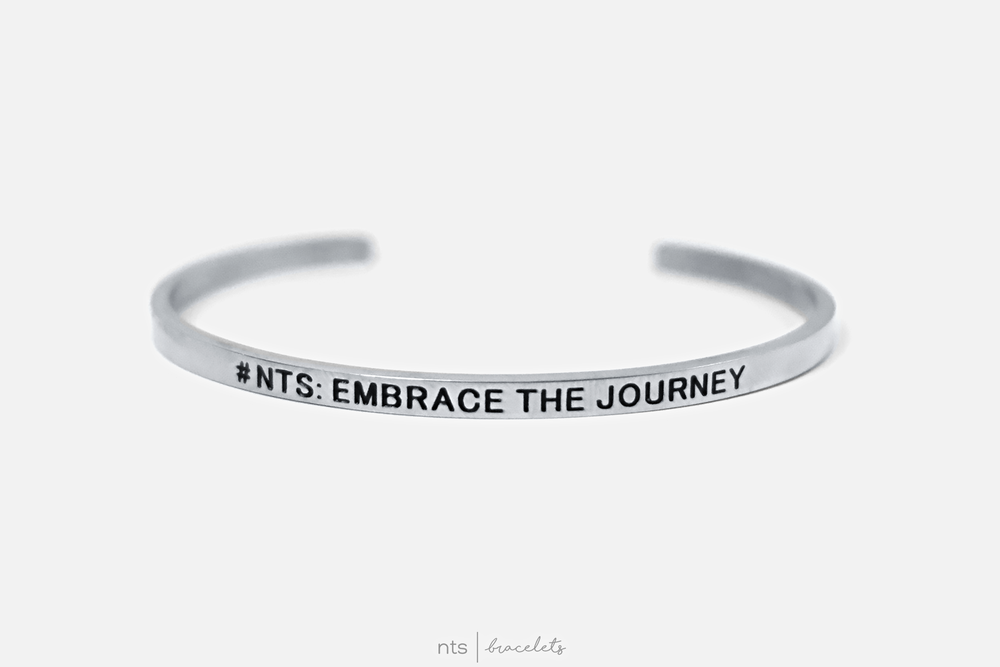 Image of #NTS: EMBRACE THE JOURNEY (Silver)