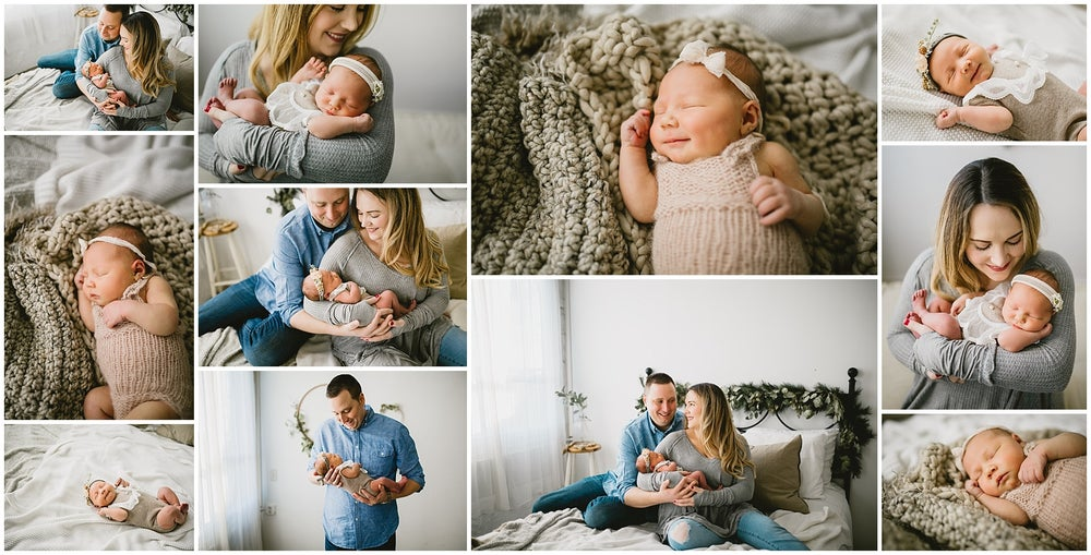 Image of Studio Newborn Session - $400