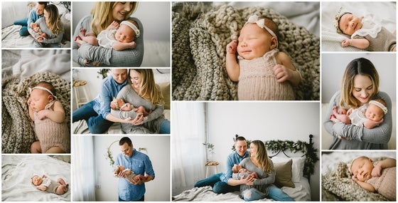 Image of Studio Newborn Session - $550