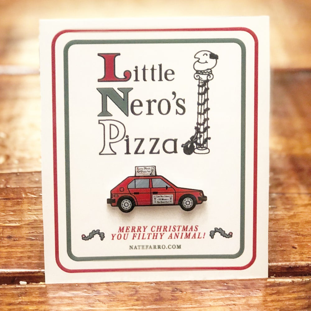 Image of Home Alone: Little Nero's Pizza Car