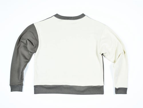 Image of Box Crewneck - Taupe/Neutral