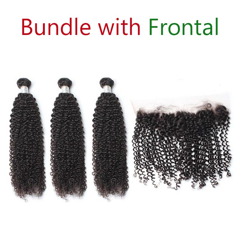 Image of 1 Piece 13X4 Lace Frontal With 2pcs/3Pcs/4pcs Hair Weft DHL Free Shipping