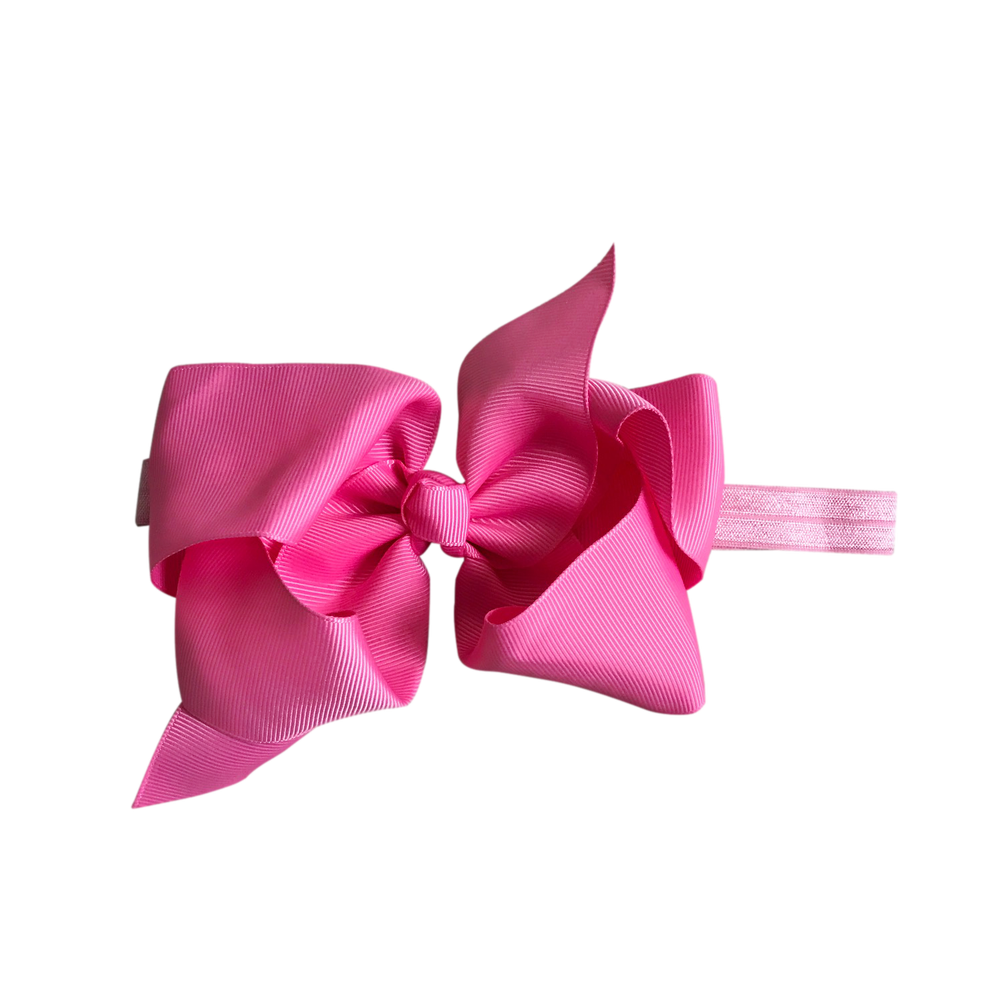 Image of Flamingo Big Bow Baby Headband