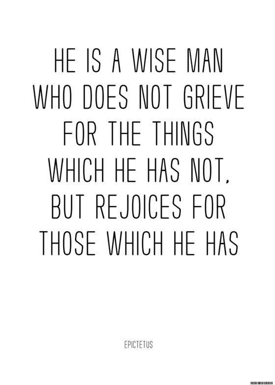 Image of Epictetus on Rejoicing — Sage Mementos