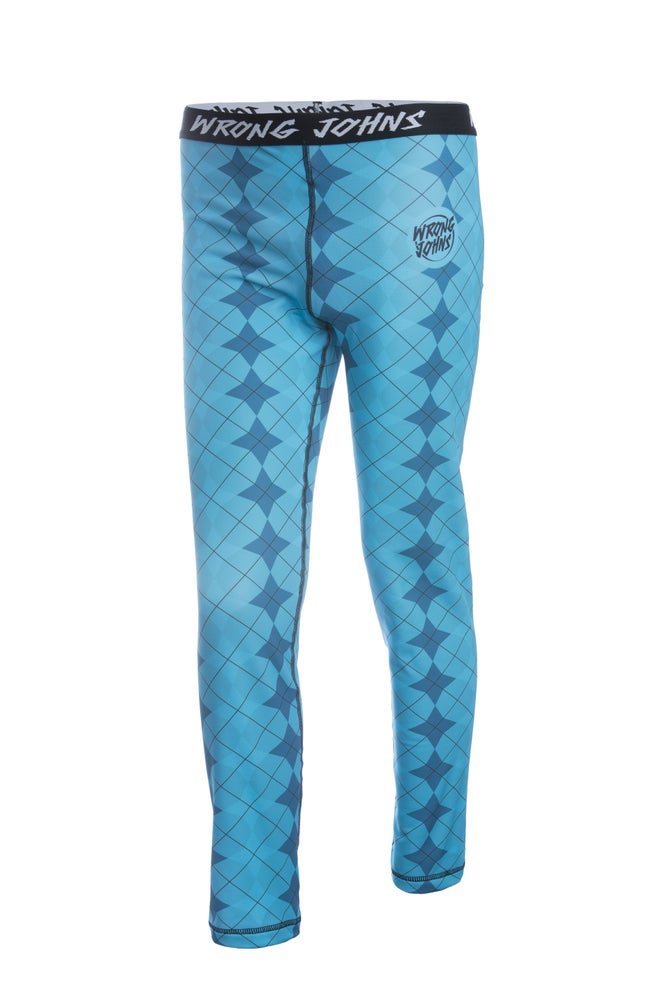 Image of Mens Blue Jester Thermal Bottoms