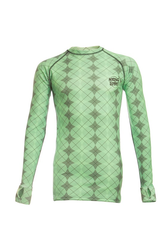 Image of Mens Green Jester Thermal Top